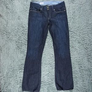 Gap Perfect Boot Mid Rise Long Jeans 30 x 35 10L